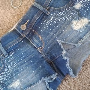 Hollister jean shorts for women size 1-2